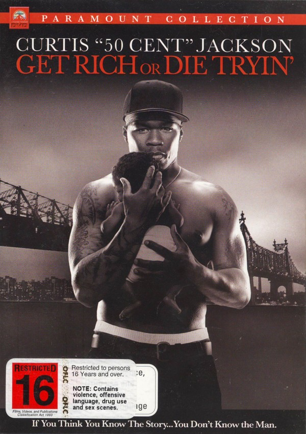 Get Rich Or Die Tryin' on DVD image