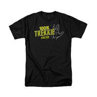 Star Trek: 100% Trekkie - Men's T-Shirt (Medium)