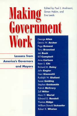 Making Government Work