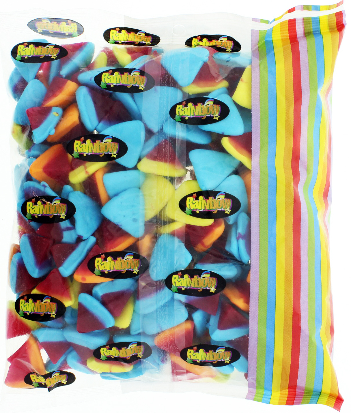 Rainbow Confectionery Multi Volcanoes Lollies Bulk Bag 1kg image