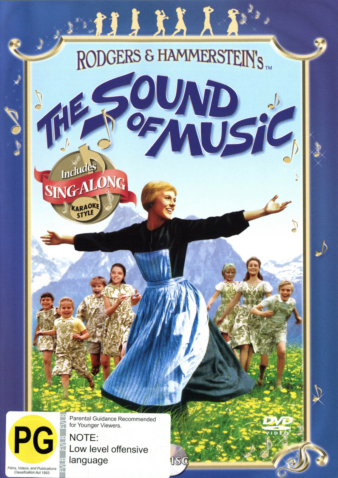 The Sound of Music - Sing-along Edition (Single Disc) on DVD image