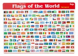 Gillian Miles - Flags of the World - Deskmat