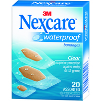 Nexcare Waterproof Bandages (Assorted 20s)