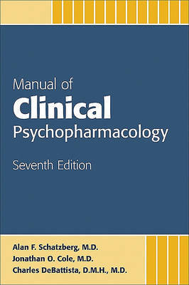 Manual of Clinical Psychopharmacology image