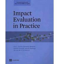 Impact Evaluation in Practice by Paul J Gertler