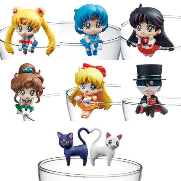 Sailor Moon Moon Prism Cafe Figures (Blind Box)