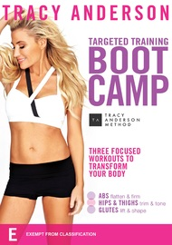 Tracy Anderson Targeted Training Boot Camp on DVD