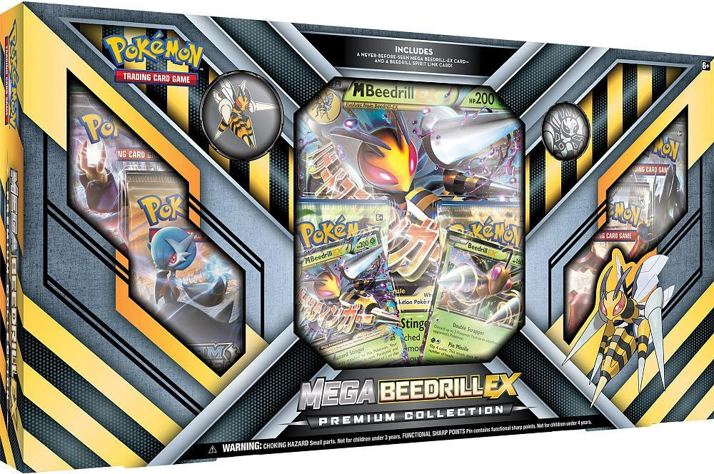 Pokemon TCG Mega Beedrill-EX Premium Collection image