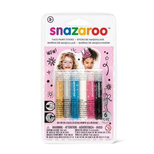 Snazaroo Facepaint Sticks: Fantasy (6 Pack)