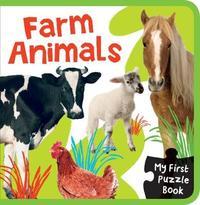 EVA Mini Puzzle Book Farm Animals