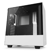 NZXT H500 - Tempered Glass Matte White