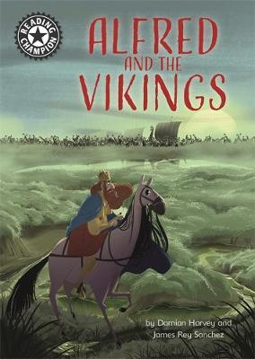 Reading Champion: Alfred and the Vikings by Damian Harvey image