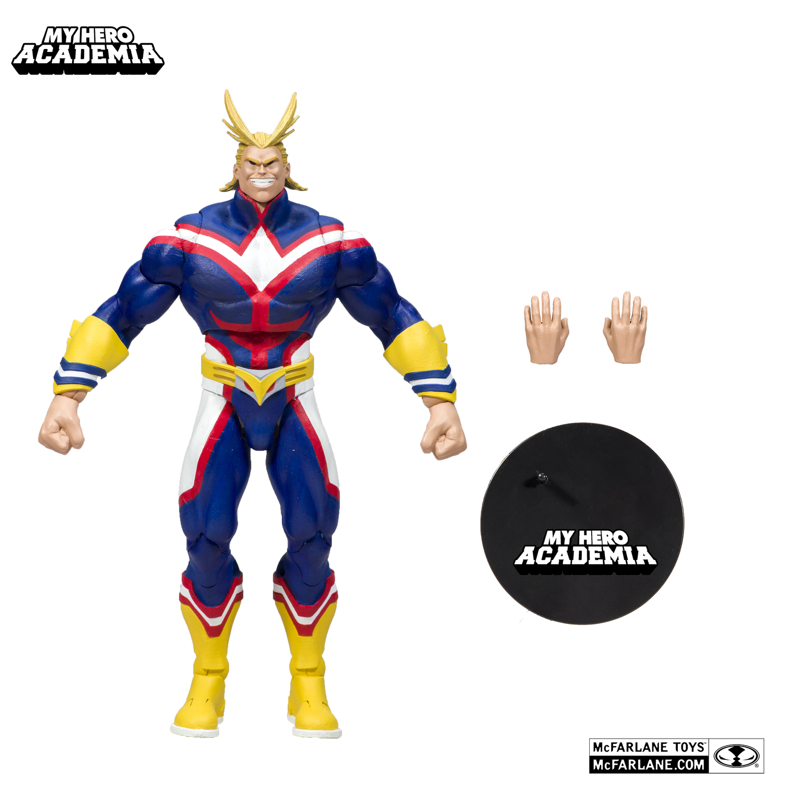"""My Hero Academia: All Might - 7"""" Articulated Figure image"""