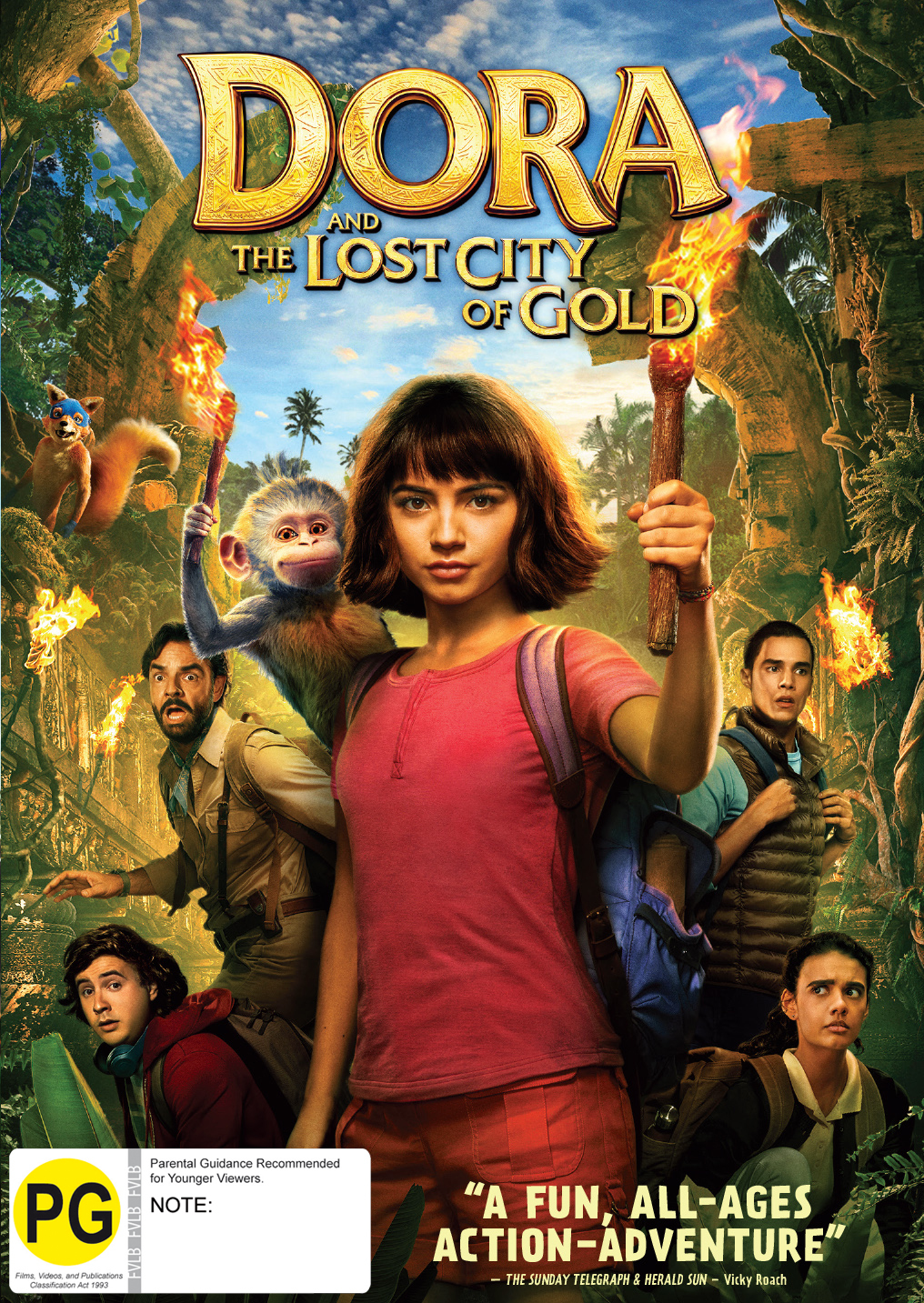 Dora And The Lost City Of Gold on DVD image