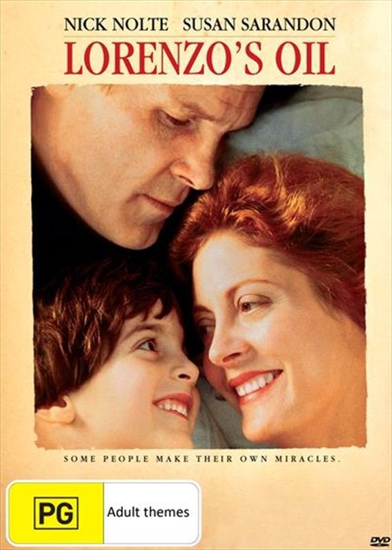 Lorenzo's Oil on DVD