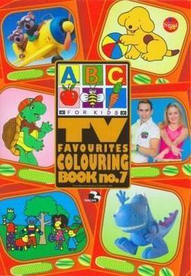 ABC TV Favourites Colouring BO by Abc Compilations