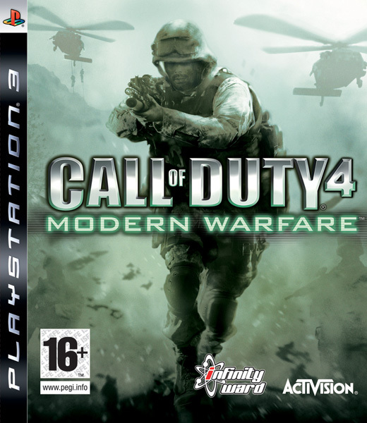 Call of Duty 4: Modern Warfare (ex display) for PS3