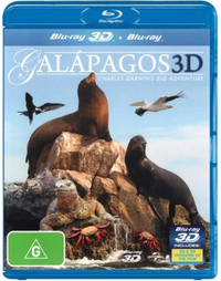 Galapagos 3D: Charles Darwin's Big Adventure on Blu-ray, 3D Blu-ray