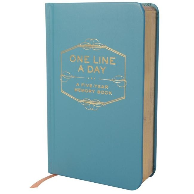 One Line a Day: A Five Year Memory Book image