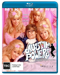 Austin Powers: International Man of Mystery on Blu-ray