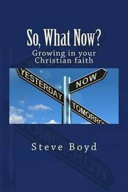 So, What Now? by Steve L Boyd
