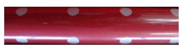 Rollwrap: Red/White Spots - 3M