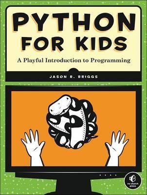 Python For Kids by Jason Briggs image