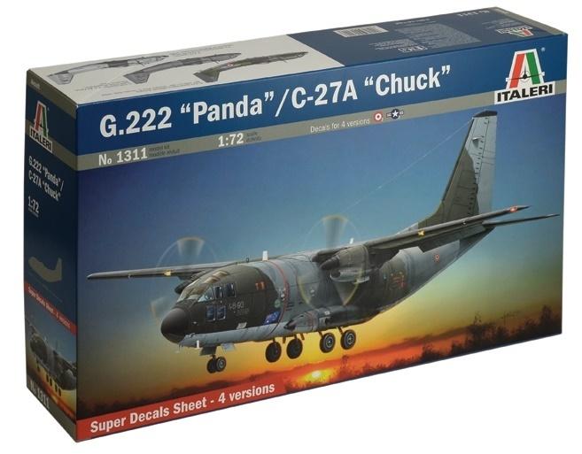 1/72 G.222 Panda/C-27A Chuck - Model Kit image