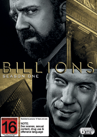 Billions: The First Season on DVD
