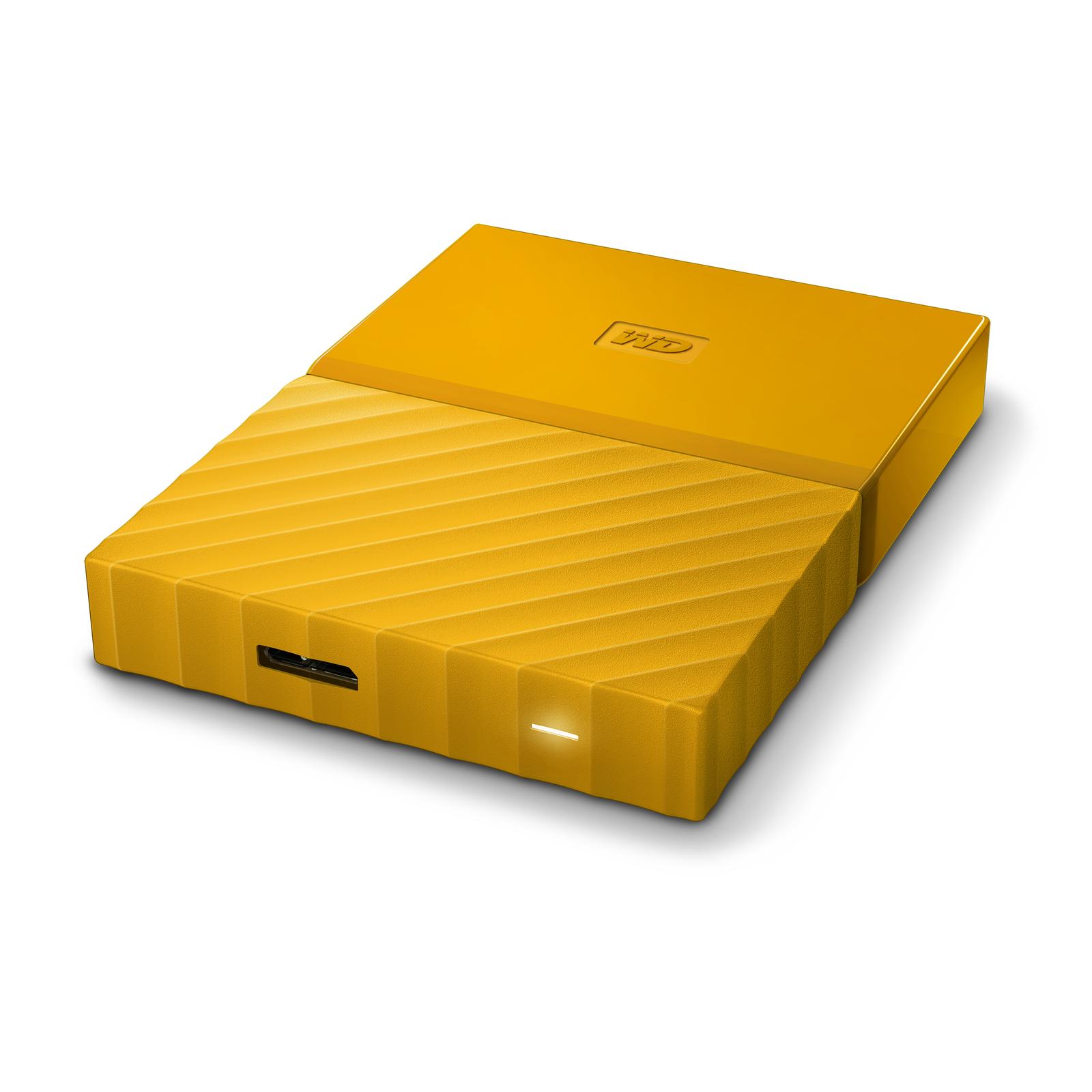 4TB WD My Passport Ultra (Yellow) image