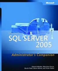 Microsoft SQL Server 2005: Administrator's Companion by E. Whalen image