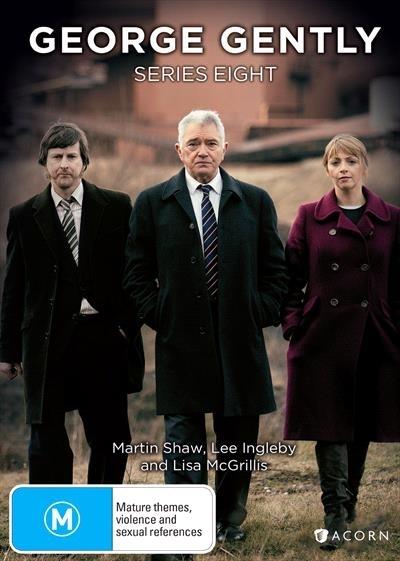 George Gently - Series 8 on DVD