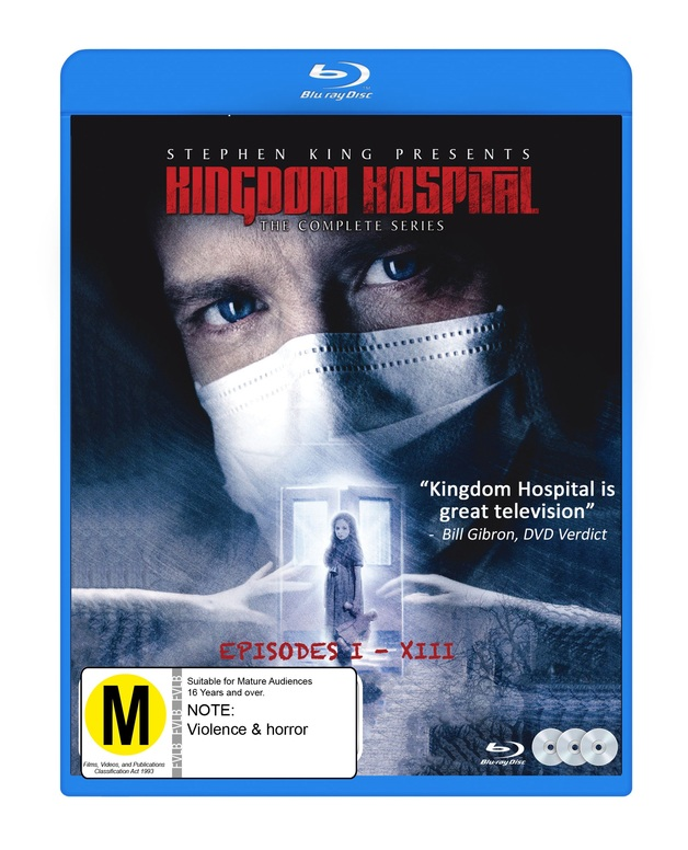 Stephen King's Kingdom Hospital on Blu-ray