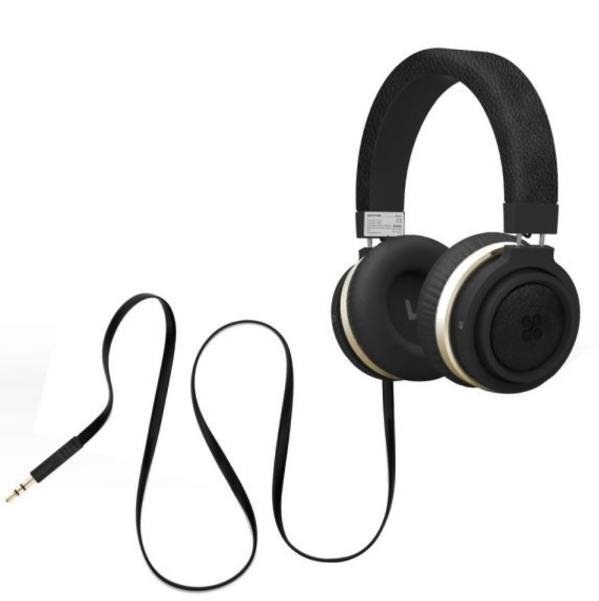 92138626fd1 Promate Boom Over-Ear Ergonomic Wired Headphones - Black | at Mighty ...