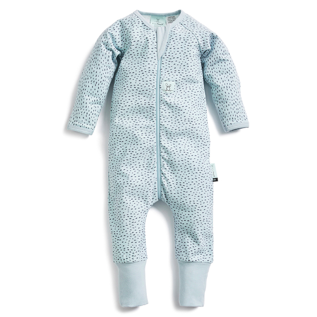 ErgoPouch: 0.2 TOG Long Sleeve Layers - Pebble/6-12 months