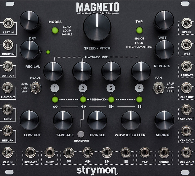 Strymon: Four Head dtape Echo and Looper