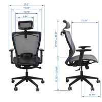 Gorilla Office: Ergonomic Office Chair - Black