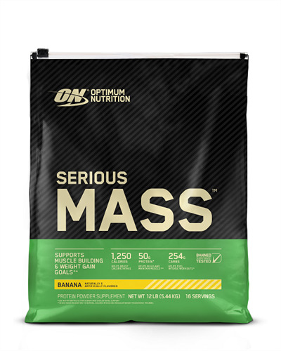 Optimum Nutrition Serious Mass - Banana (5.44kg) image
