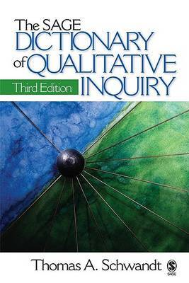 The Sage Dictionary of Qualitative Inquiry by Thomas A. Schwandt image