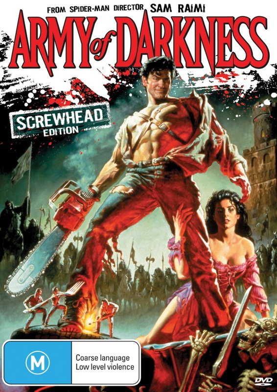 Army of Darkness: Screwhead Edition on DVD