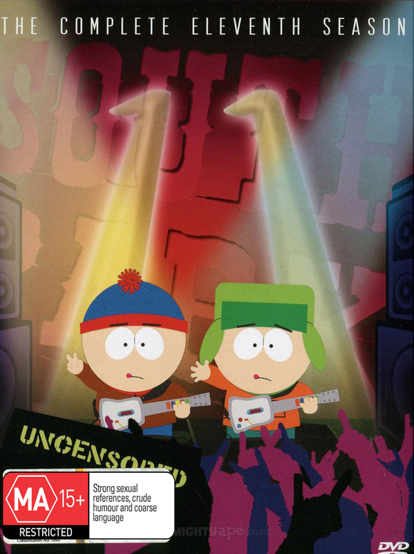 South Park - The Complete 11th Season: Uncensored (3 Disc Box Set) on DVD