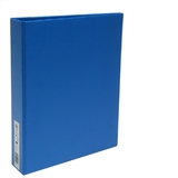 FM A4/2/38 Polyprop Ring Binder - Light Blue