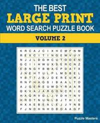 The Best Large Print Word Search Puzzle Book, Volume 2
