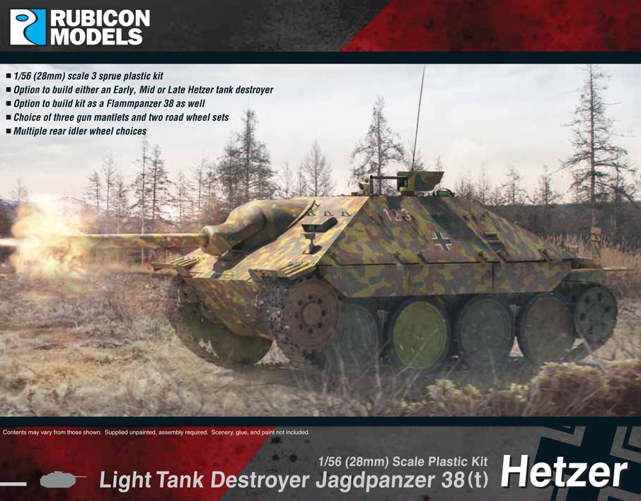 Rubicon 1/56 Jagdpanzer 38(t) Hetzer image