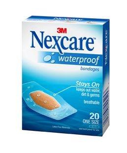 Nexcare Waterproof Bandages One Size (20pk)