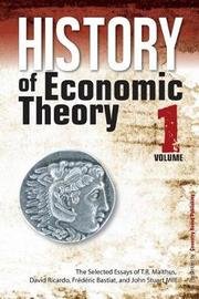 History of Economic Theory by T.R. Malthus