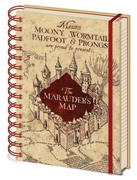 Harry Potter: A5 Notebook - Marauders Map