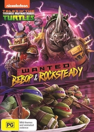 Teenage Mutant Ninja Turtles: Wanted - Beebop & Rocksteady on DVD