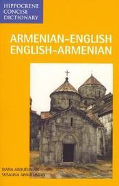 Armenian-English / English-Armenian Concise Dictionary by Diana Aroutunian image