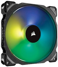 Corsair ML140 PRO RGB LED 140MM PWM Premium Magnetic Levitation Fan — Single Pack